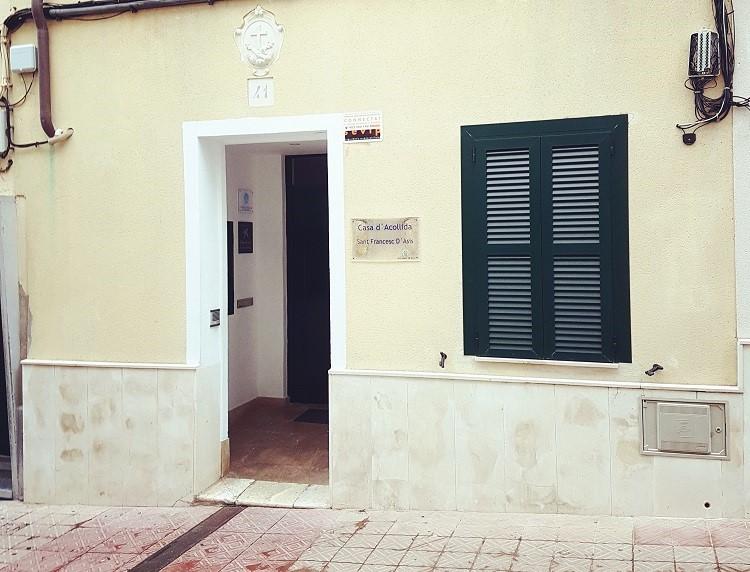 Casa de acogida Maó.