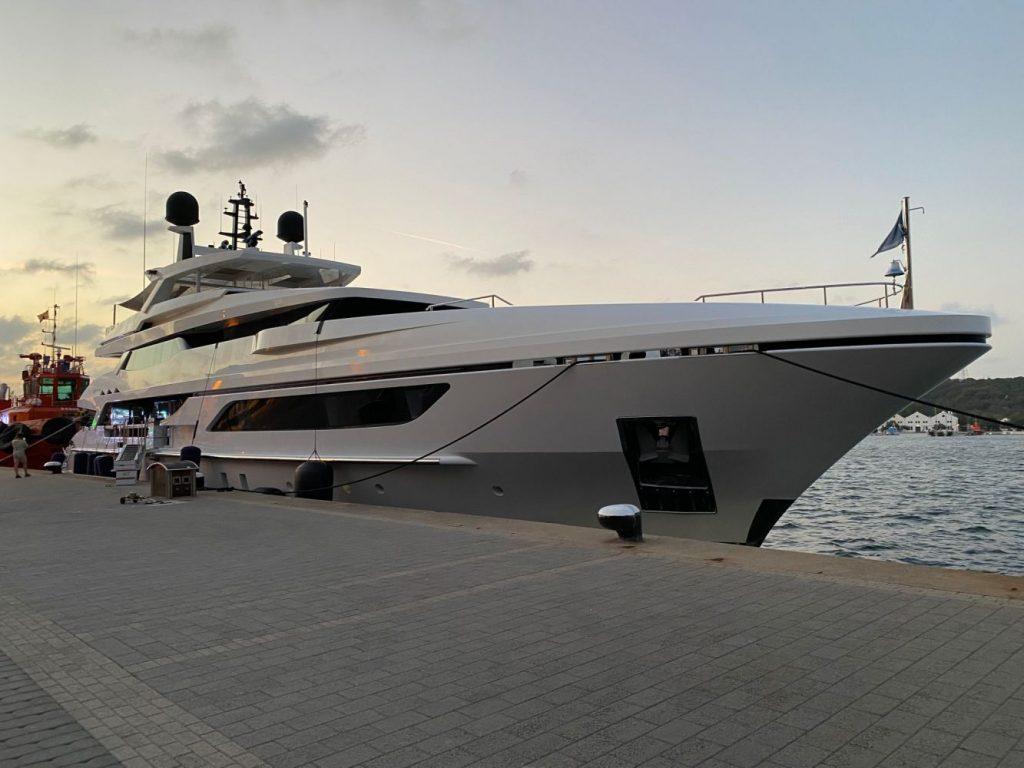 Detalle de la embarcación (Fotos: Tolo Mercadal)