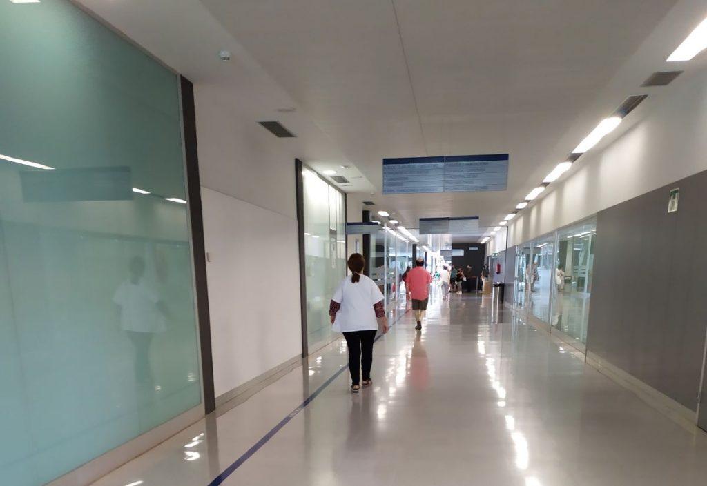 Interior del Hospital Mateu Orfila