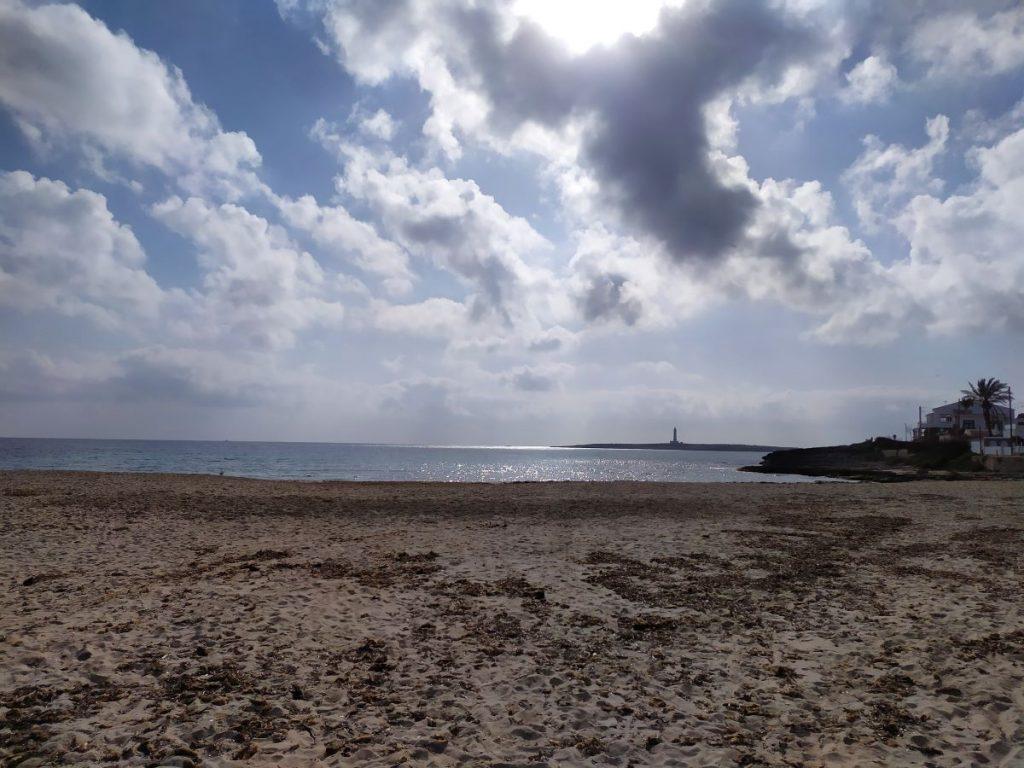 Intervalos nubosos esta mañana en Menorca (Foto: EA)