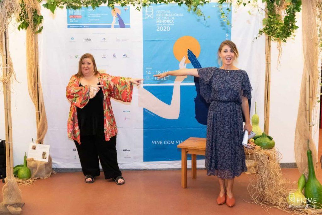 Itziar Castro y Ruth Llopis en el Cooking Films de 2020