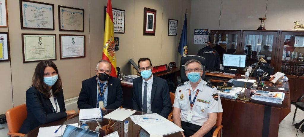 Reunión del alcalde de Maó en el Ministerio del Interior