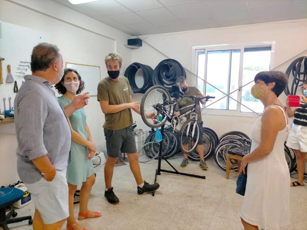 Taller de bicicletas de Càritas