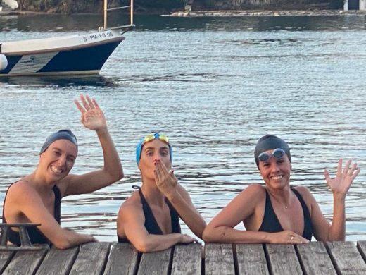 (Vídeo y fotos) Tres sirenas para Mô