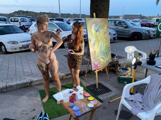 (Fotos) El arte toma el Moll de Ponent