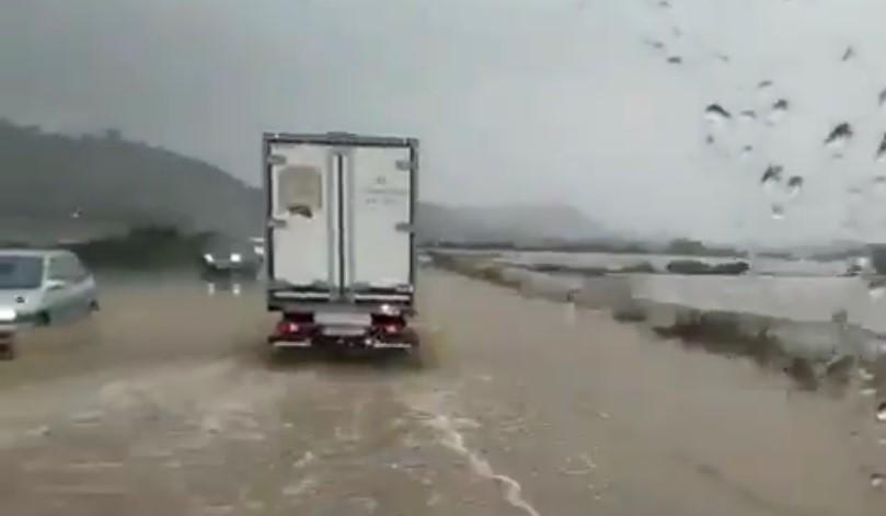 Inundada.