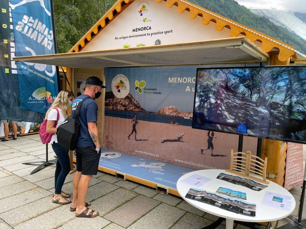 Stand de Menorca en el Salón Ultra-Trail 2021