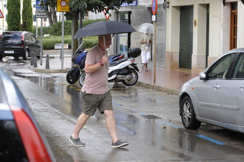 Verano lluvioso.