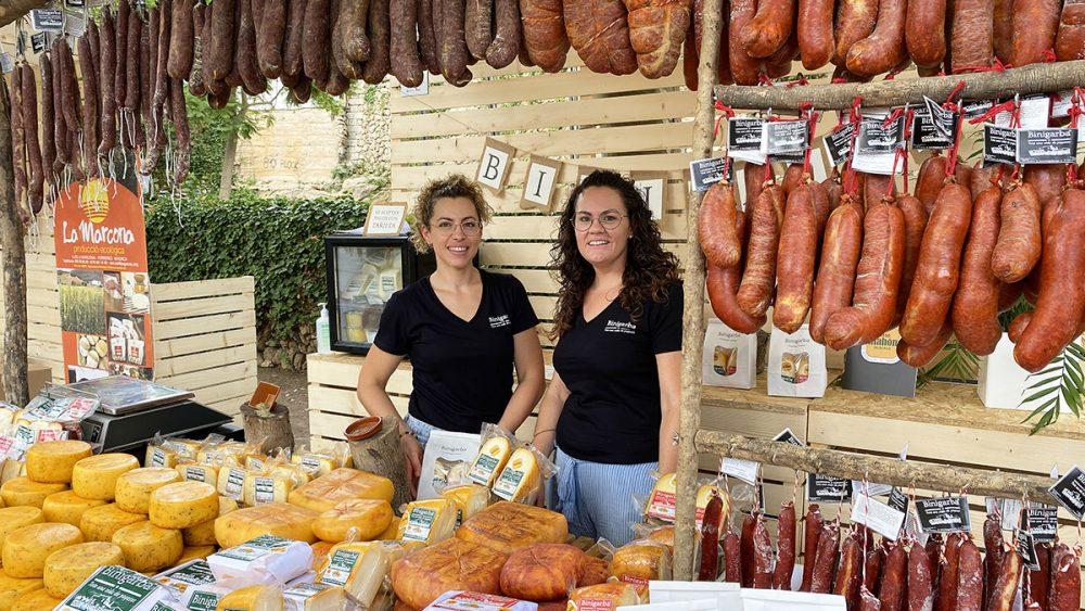 Uno de los expositores con productos de Menorca (Fotos: Tolo Mercadal)