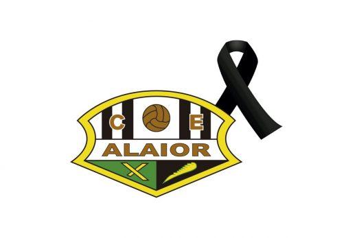 Luto en el Club Esportiu Alaior.