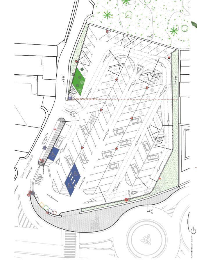 Plano de la ampliación que llevará a cabo el Ayuntamiento de Maó