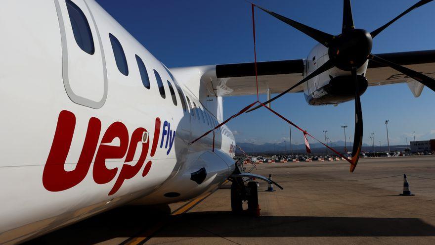 Avión de UepFly.