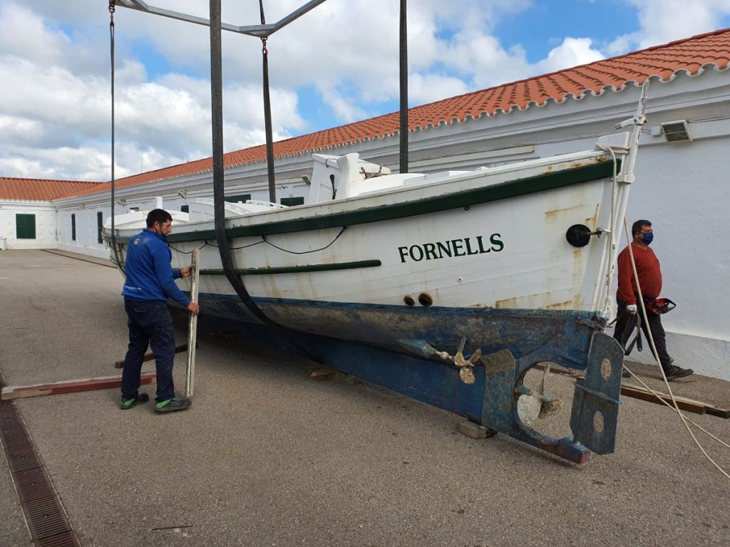 Bote Salvavidas Fornells