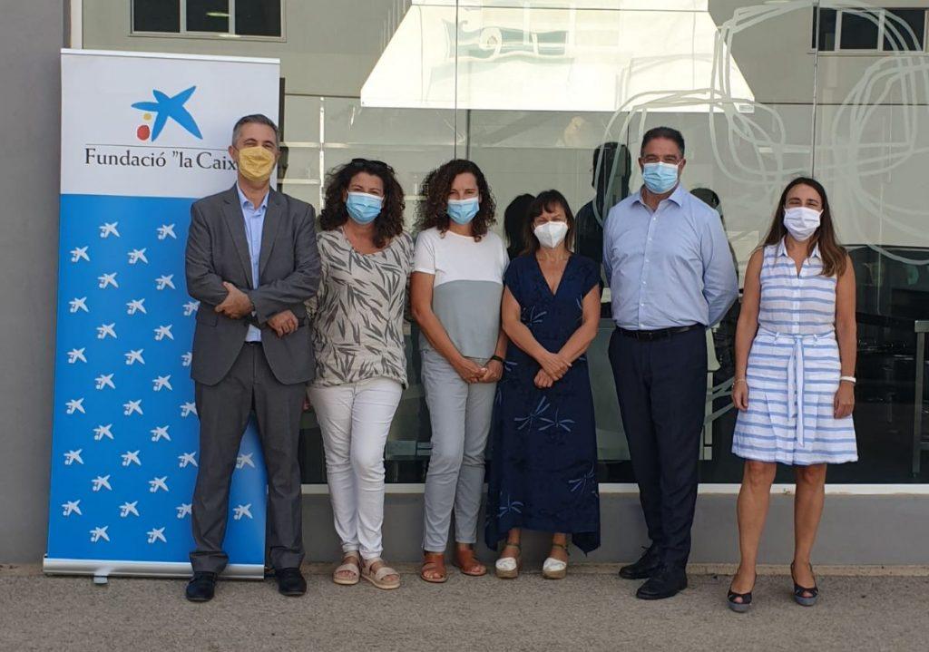 La Fundación La Caixa implicada en el nuevo proyecto en Menorca