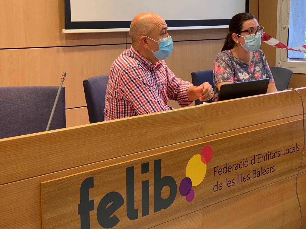 Antoni Salas, presidente de la FELIB (Imagen de Twitter de la FELIB)