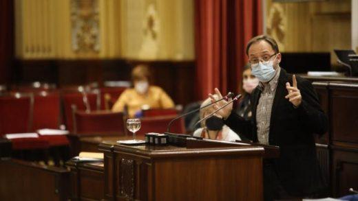Josep Castells, portavoz de Mes en el Parlament.