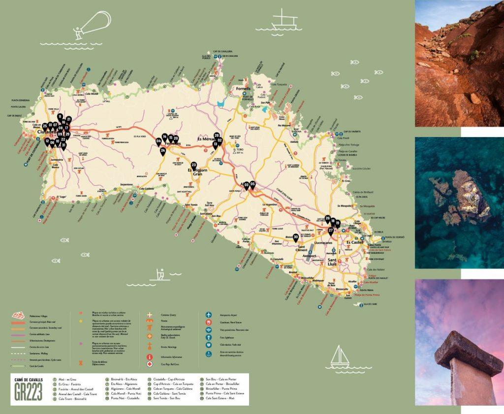 Se distribuirán 8.000 ejemplares del mapa en la isla