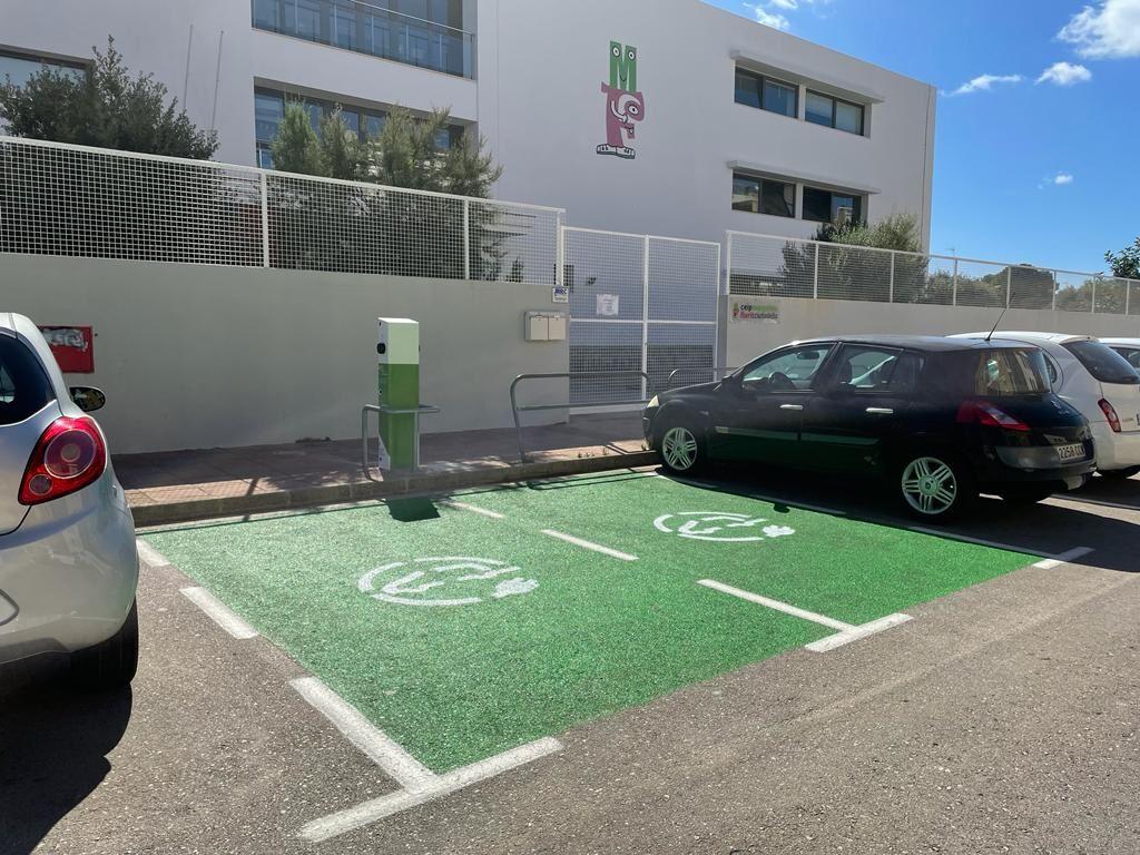 Puntos de recarga eléctrica en Ciutadella